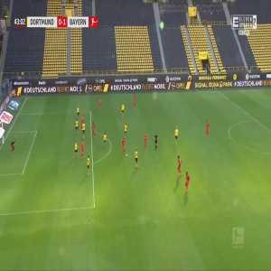Borussia Dortmund 0-1 Bayern München - Joshua Kimmich 43' great goal