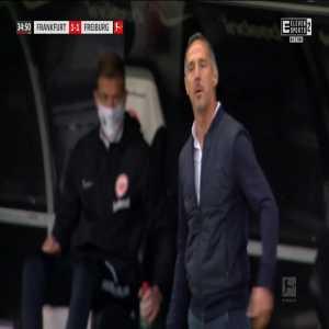 Eintracht Frankfurt [1]-1 Freiburg - André Silva 35'