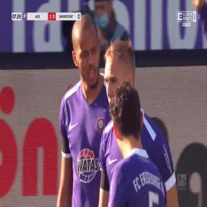 Erzgebirge Aue 1-0 Darmstadt - Florian Krüger 8'