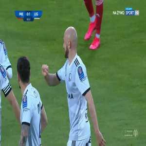 Miedź Legnica 0-1 Legia Warszawa - Valerian Gvilia 17' (Polish Cup)