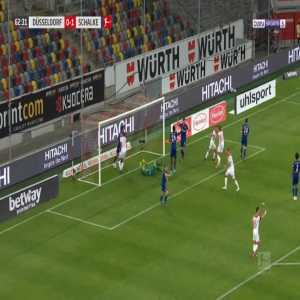 Dusseldorf [1]-1 Schalke - Rouwen Hennings 63'