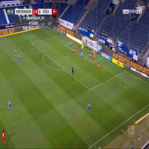 Hoffenheim 2-0 FC Köln - Christoph Baumgartner 46'