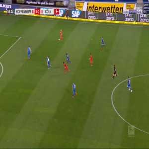 Hoffenheim 3-[1] FC Köln - Florian Kainz 60'