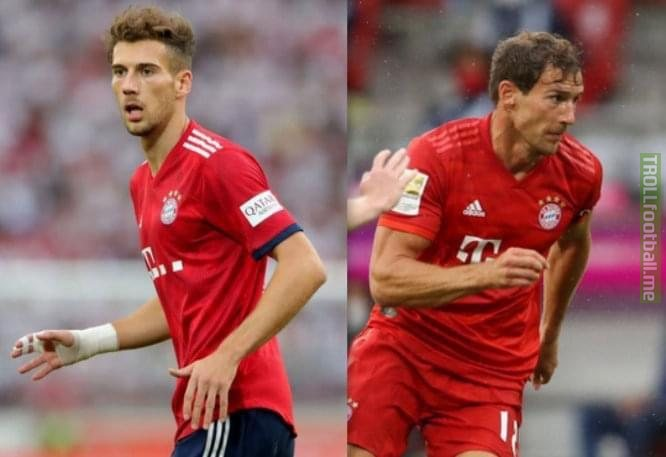 Leon Goretzka trained well in the last 2 months...