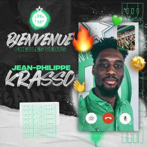 Jean-Philippe Krasso signs with AS Saint-Étienne
