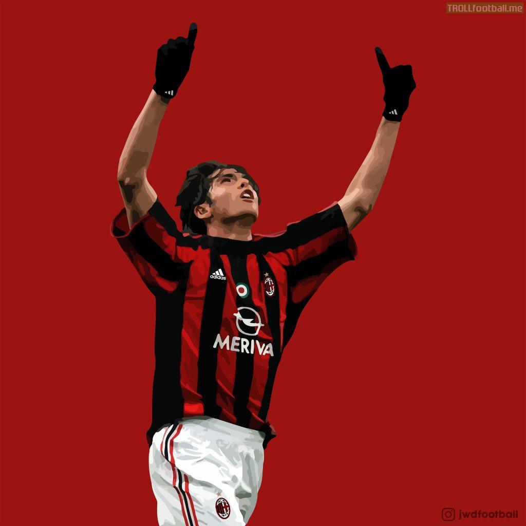 Made this Illustration of Kaká - @jwdfootball on IG
