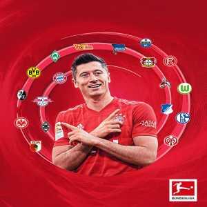 Lewandowski has now scored against every single current Bundesliga club