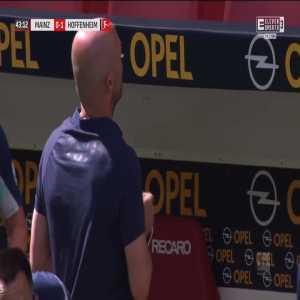 Mainz 0-1 Hoffenheim - Ihlas Bebou 43'