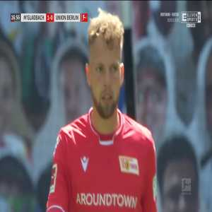 Borussia Mönchengladbach 1-0 Union Berlin - Florian Neuhaus 17'
