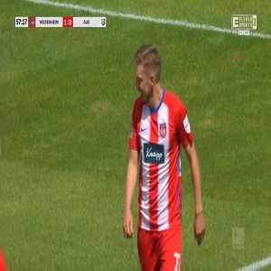 Heidenheim 2-0 Erzgebirge Aue - Konstantin Kerschbaumer 58'