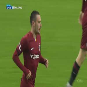 MFK Karviná 1-[1] Sparta Praha - David Moberg Karlsson 49'