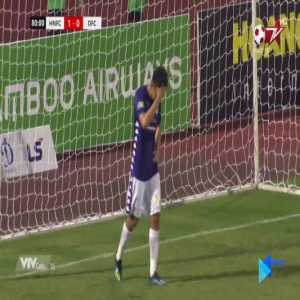 Nguyen Thanh Chung (Hanoi FC) unbelievable missed vs Dong Thap