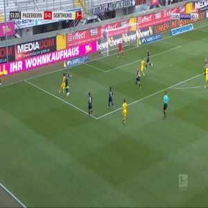 Paderborn 0-1 Dortmund - Thorgan Hazard 54'