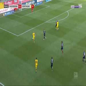 Paderborn 0-2 Dortmund - Jadon Sancho 57'