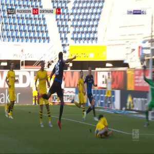 Paderborn [1]-2 Dortmund - Uwe Hunemeier penalty 72'