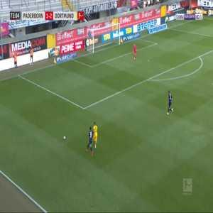 Paderborn 1-[3] Dortmund - Jadon Sancho 74'