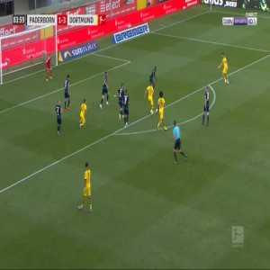 Paderborn 1-[4] Dortmund - Achraf Hakimi 85'