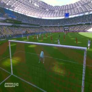 Shakhtar Donetsk 0 - 1 Dynamo Kyiv 38' Vitaliy Buyalskiy