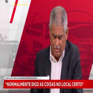 """Benfica president Luis Filipe Vieira: """"We may get centralised TV deals in Portugal in 2028"""""""
