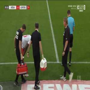 FC Köln 1-[1] RB Leipzig - Patrik Schick 20'