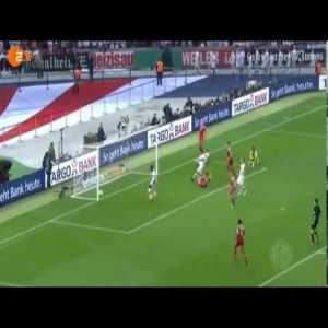 """On this day in 2013, Bayern Munich beat VfB Stuttgart 3–2 in the DFB-Pokal final to cap off Germany's first treble and complete their story of redemption after the previous season's """"bridesmaid's treble"""""""