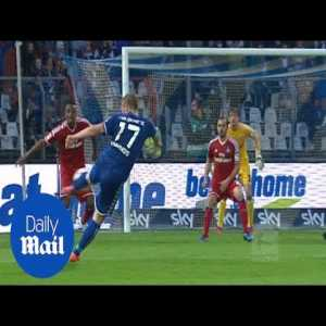 On this day in 2015 Marcelo Diaz scored an freekick in the 90th minute against Karlsruhe in the relegation battle to save his team from relegation. The game went to extra time and Hamburg won 2:1. Karlsruhe never came close again to promotion for the Bundesliga since then.