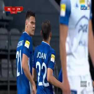 Miedź Legnica [1]-1 Stal Mielec - Marquitos PK 15' (Polish I liga)