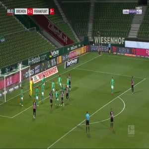 Bremen 0-2 Frankfurt - Stefan Ilsanker 81'