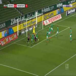 Bremen 0-3 Frankfurt - Stefan Ilsanker 90'