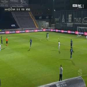 Famalicao 1-0 FC Porto - Fabio Martins 48'