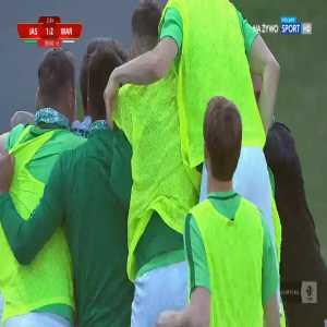 GKS Jastrzębie 1-[2] Warta Poznań - Michał Jakóbowski 90+3' (Polish I liga)