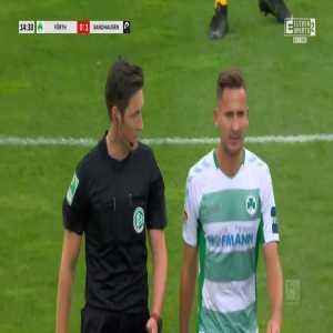 Greuther Fürth 0-1 Sandhausen - Kevin Behrens PK 15'