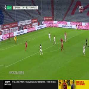 Bayern Munich 1-0 Eintracht Frankfurt: Ivan Perisic goal