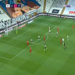 Besiktas 0-2 Antalyaspor - Amilton 36'