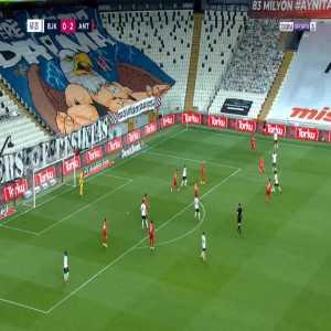 Besiktas [1]-2 Antalyaspor - Adem Ljajic 68'
