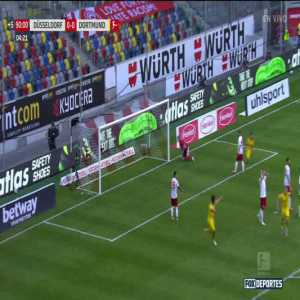 Fortuna Dusseldorf 0-1 Borussia Dortmund: Erling Haaland goal