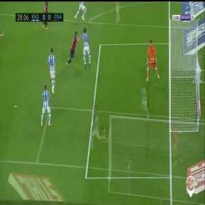 Real Sociedad 0-1 Osasuna: Adrian Lopez penalty goal