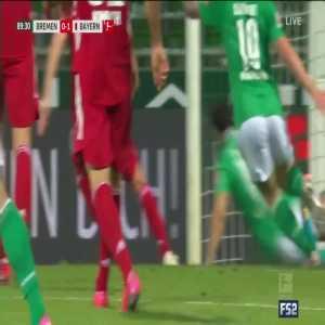 Neuer great save vs. Werder Bremen