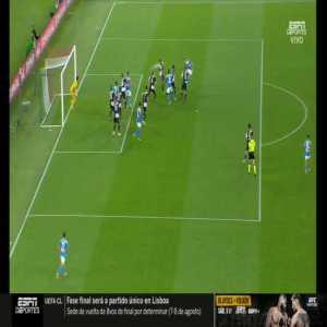 Gianluigi Buffon save vs. Napoli 90+2'