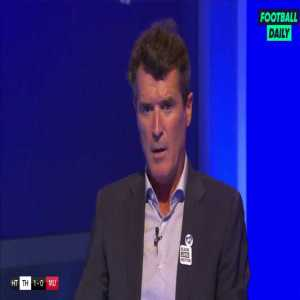 """Roy Keane's half-time rant about the Tottenham goal vs Man United: """"I wouldn't even let them back on the bus after the match"""""""