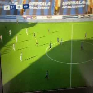 IK Sirius 0-[1] BK Hacken - Daleho Irandust 17' - Great goal