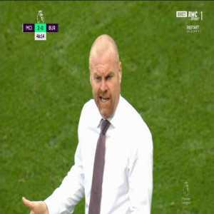 Manchester City [3] - 0 Burnley - Mahrez penalty 45+3' + call