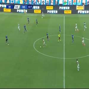 Inter 0-1 Sassuolo - Francesco Caputo 4'