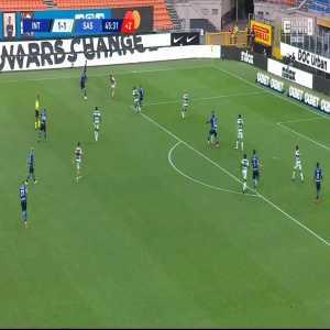 Inter [2]-1 Sassuolo - Cristiano Biraghi 45+1'