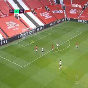 Marcus Rashford miss vs Sheffield Utd