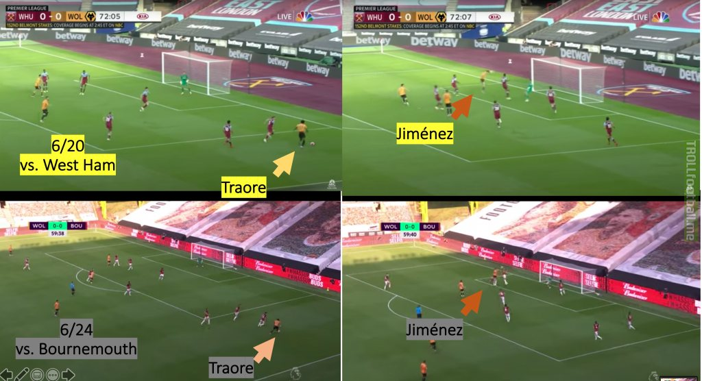 Bournemouth had 4 days to prepare for this predictable moment in the Wolves match