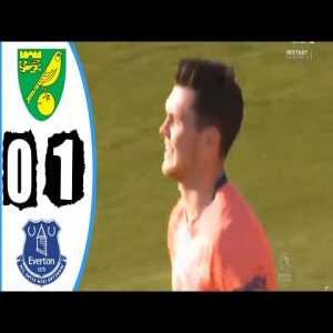 Everton vs Norwich City (1:0) ; M.Keane 55'
