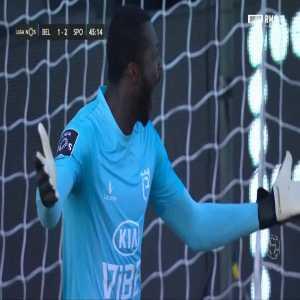 Belenenses SAD 1-[3] Sporting - Jovane Cabral penalty 45'+2'