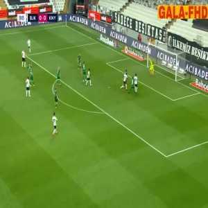 Besiktas 1-0 Konyaspor - Burak Yilmaz great strike 40'
