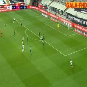 Besiktas 2-0 Konyaspor - Abdoulay Diaby 45+2'